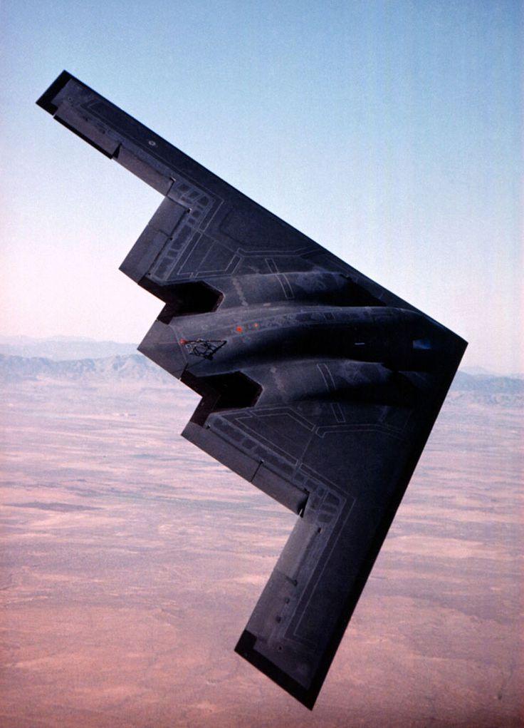 [フリー画像素材] 戦争, 軍用機, 爆撃機, B-2 スピリット, アメリカ軍 ID:201108060000