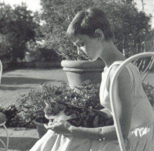 Audrey Hepburn in Bürgenstock, Schweiz