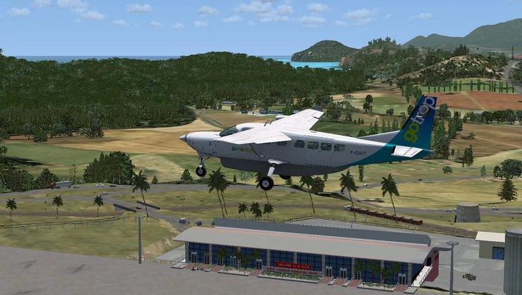 St. Kitts airport