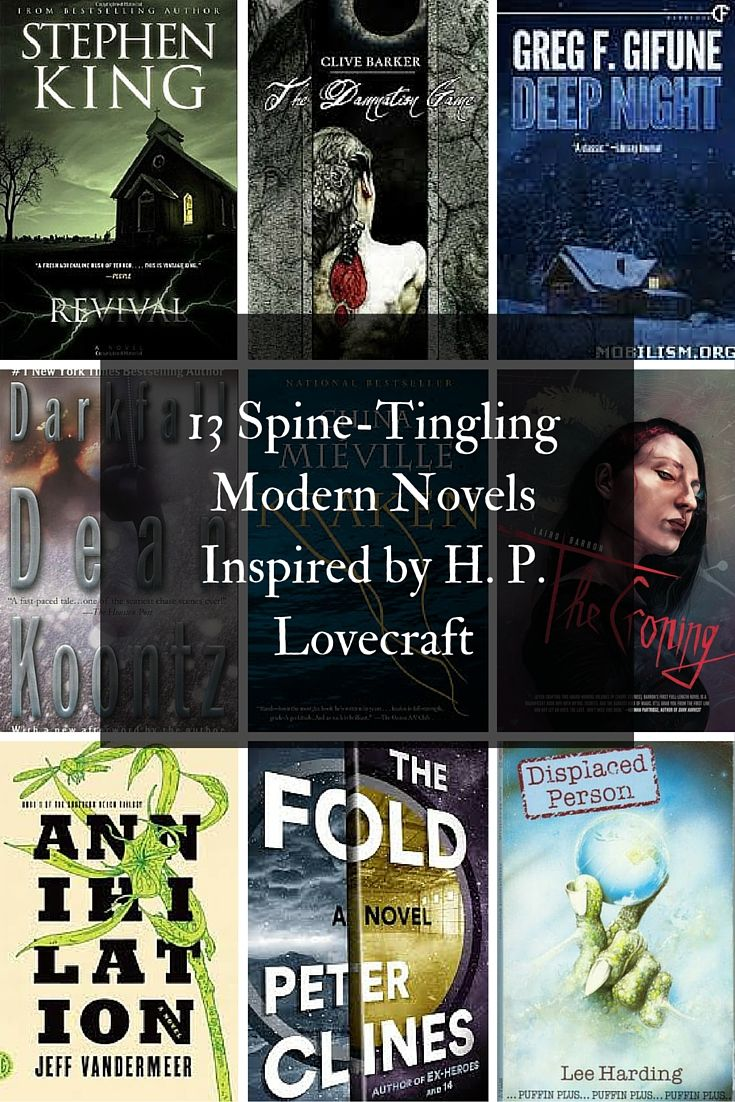 13 Spine-Tingling Modern Novels Inspired by H.P. Lovecraft, including Stephen King
