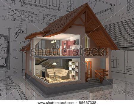 Стоковые фотографии и изображения Isometric View Of House | Shutterstock