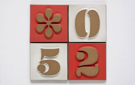 17 Best Images About Numbers Letters Tile On Pinterest