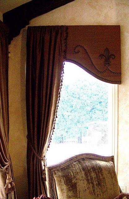 Nailhead window treatment