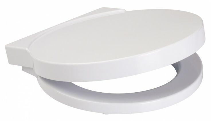 Nano - deska wolno opadająca z powierzchnią antybakteryjną; nie przytnie rączek, eliminuje trzaskanie klapy, higieniczna. Cena: ok. 176 zł, Cersanit/Sklep lazienka.com.pl.