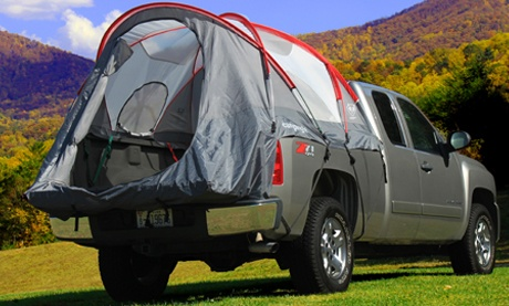 full size standard bed truck tent rightline gear truck tents pick up bed tent camp right. Black Bedroom Furniture Sets. Home Design Ideas
