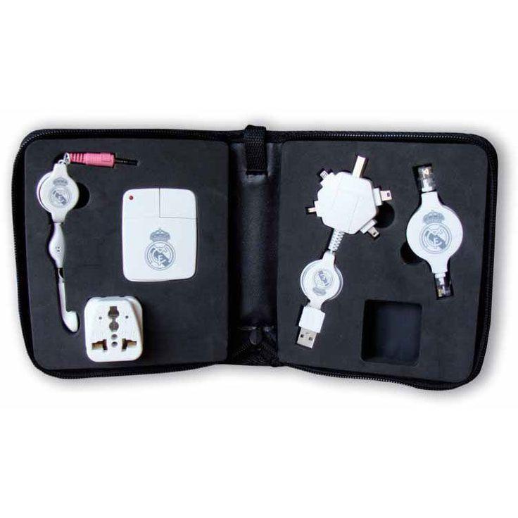 Kit viaje USB raton Real Madrid (precio 31,95€)