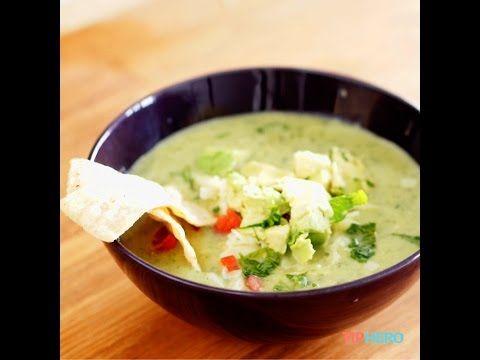 Avocado Chicken Tortilla Soup http://tiphero.com/avocado-chicken-tortilla-soup/