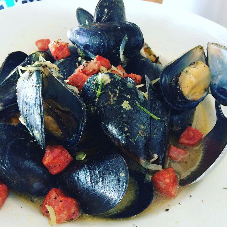 sockeyecity#dinner #appy #mussels 😎 #Steveston #sockeyecitygrill