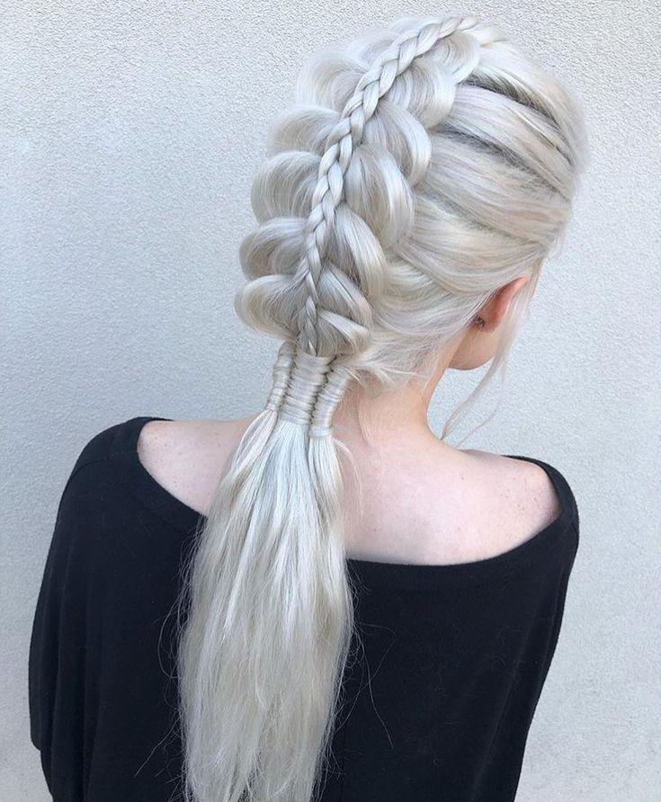 Hair Hairstyles Prettyhair Nicehairstyles Pretty Creativehair Plaits Hairstyles Hair Styles Braided Hairstyles