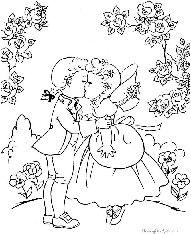 valentine coloring pages french - photo#9