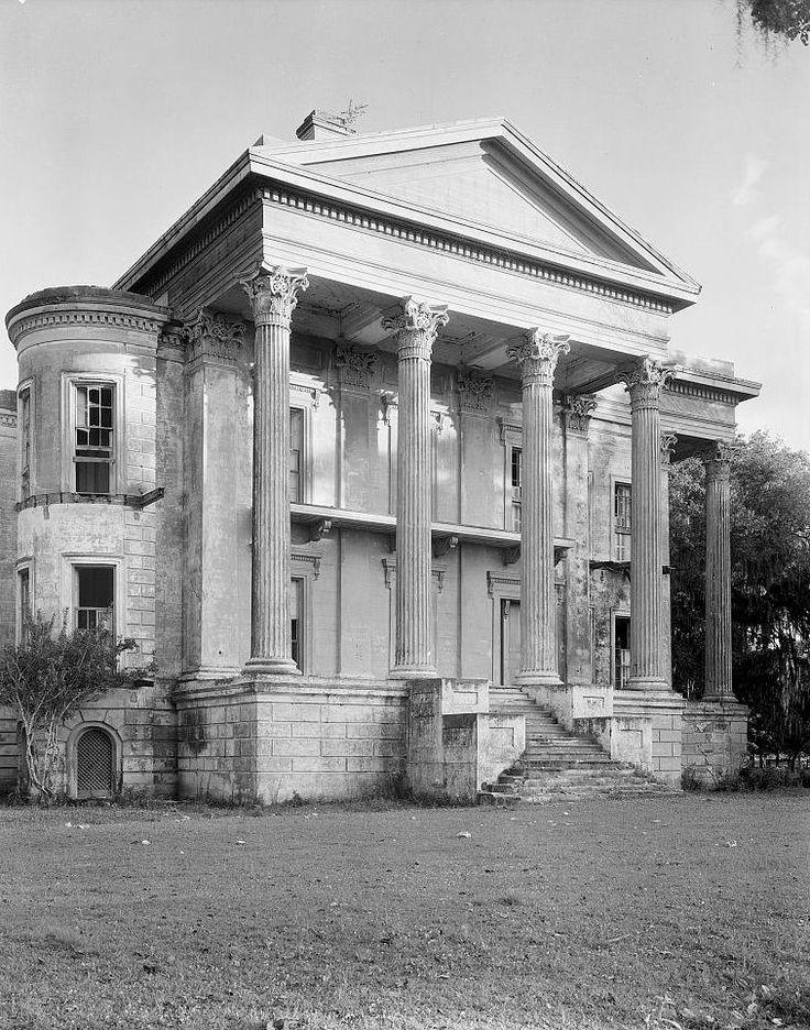 Belle Grove Plantation Mansion, White Castle Louisiana 1938