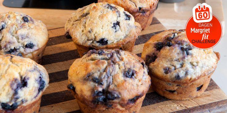 Blauwe bessenzijn niet alleen overheerlijk in muffins, ze bevatten ook veel anthocyaan, een antioxidant met bewezenkankerbestrijdende eigenschappen. Wat heb je…