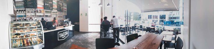 Tazza Cafe, Desarrollo de Proyecto en San Isidro.