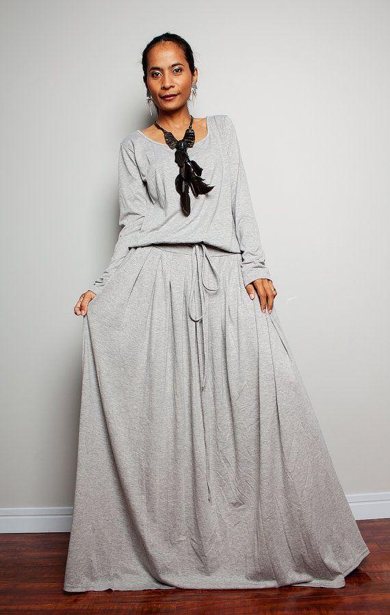 Dress maxi length suits for plus women