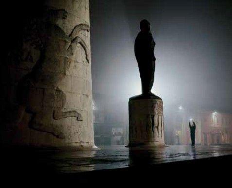 Piazza Baracca con Monumento #Lugo di #Romagna