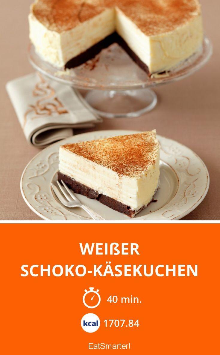 Weißer Schoko-Käsekuchen - smarter - Kalorien: 1707.84 Kcal - Zeit: 40 Min. | eatsmarter.de