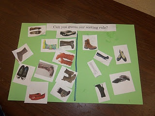 Elves and the Shoemaker and Maybe make shoe pairs for counting by twos?
