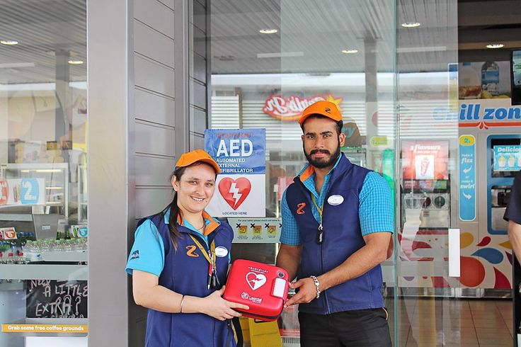 Franklin Z stations get a jumpstart with new defibrillators - Z Energy along with St John have partnered to put defibrillators in all of its 212 sites across the country with the aim of making more defibrillators available after hours.