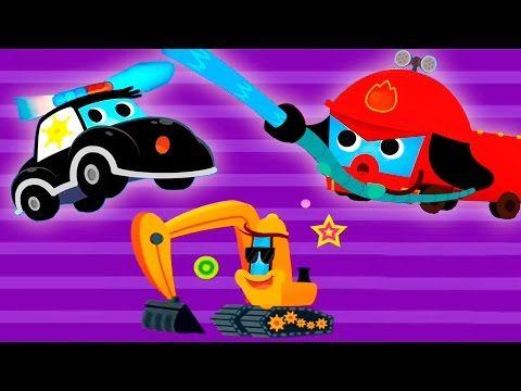 Машинки Автовоз Развивающий мультик - YouTube