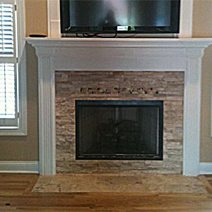 TV ABOVE FIREPLACE....DOES THIS WORK?
