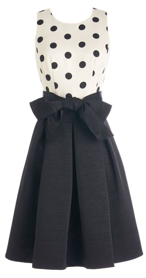 Polka Dot Bow Dress