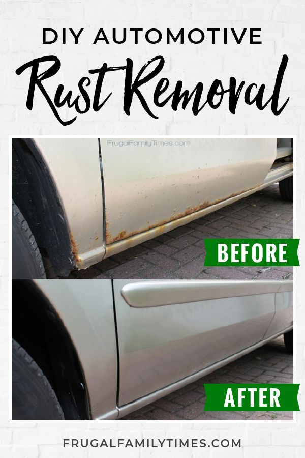Diy Rust Repair How To Get Rid Of Rust On Your Car In 2020 How
