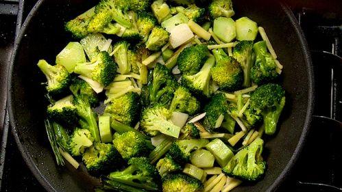 Sauté de brocoli