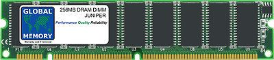 256MB DRAM DIMM RAM FOR JUNIPER M7i  M10i ROUTER's RE-5.0/RE-400 (MEM-RE-256-s)