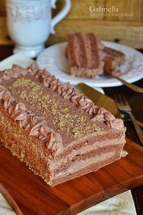 Gabriella kalandjai a konyhában :): Csokoládétorta - a 21. házassági évfordulónkra ♡