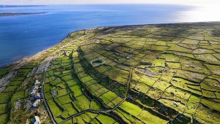 Каменные стены Ирландии - Путешествуем вместе
