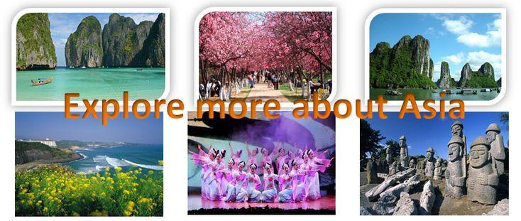 Explore more about Asia | Berdua Tours