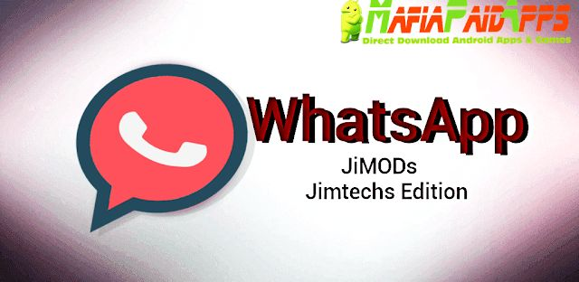 Download WhatsApp Plus (WhatsApp) JiMODs Apk Android    WhatsApp Plus (WhatsApp) JiMODs is a Tools Applications for Android  Download last version of WhatsApp Plus (WhatsApp) JiMODs Apk for android from MafiaPaidApps with direct link  Tested By MafiaPidApps  without adverts & license problem  without Lucky patcher & google play the mod   Reborn Version  Anti Ban  WhatsApp Plus Anti Ban  WhatsApp JiMODs   WhatsApp  WhatsApp Jt JiMODs [New]  Simple. Personal. Secure.  What if we tell you that…