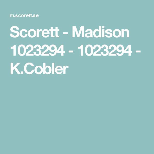 Scorett - Madison 1023294 - 1023294 - K.Cobler