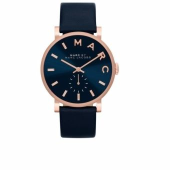 Buy Marc by Marc Jacobs Baker Navy Dial Navy Leather Ladies Watch MBM1329 online at Lazada. Discount prices and promotional sale on all. Free Shipping.