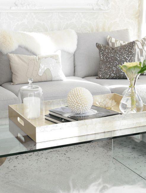 Trouvailles Pinterest: Plateau décoratif | Les idées de ma maison Photo: ©Karla Dreyer Design | Tracey Ayton #deco #idees #plateau #decoratif #tendance