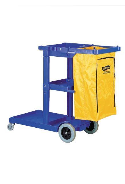 Chariot de concierge Marino JAN-Cart 2 avec sac