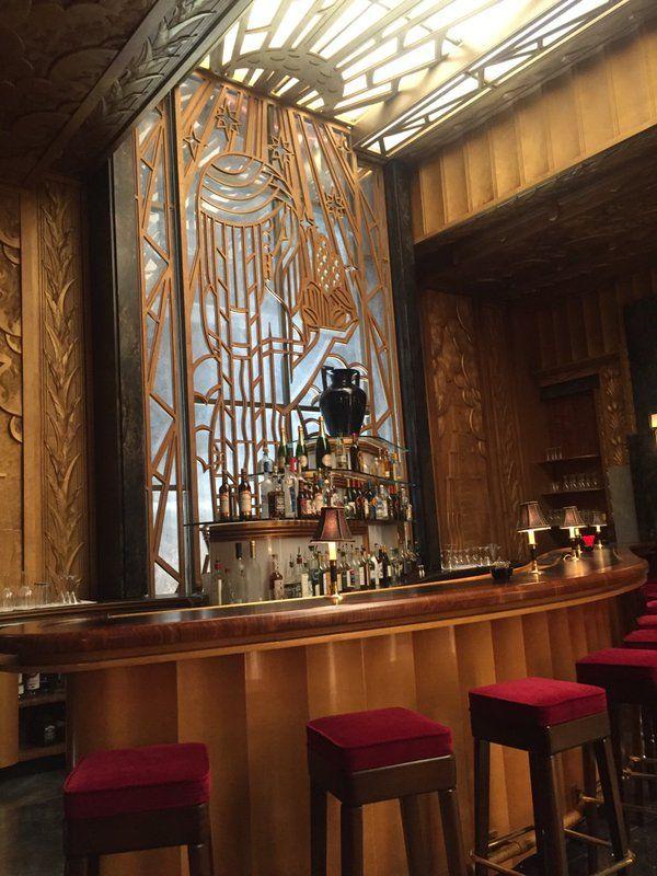 Pretty bar at the Cortez