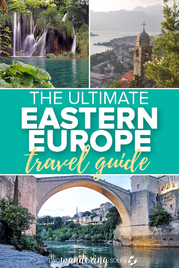 The Ultimate Eastern Europe Travel Guide: Everything you need to know about visiting Eastern European countries #travel #europe #ultimate