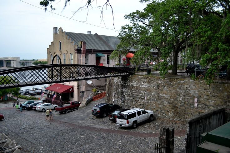 Savannah River Street, Savannah, Georgia (Саванна, Джорджия)