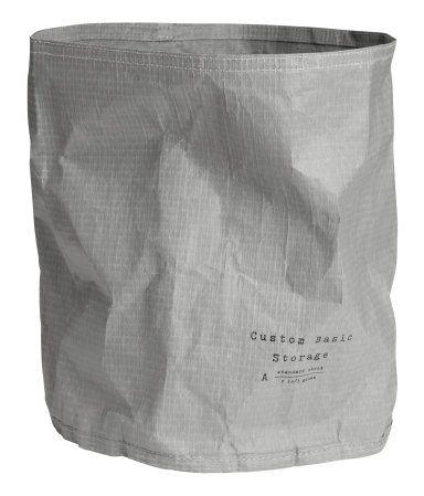 Paper Storage Basket | Gray | Home | H&M US