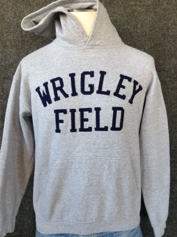 Vintage Chicago Wrigley Field hooded by littleshopofmatthews