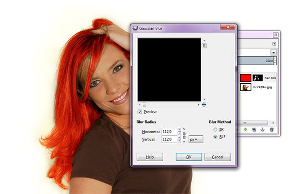 Here is a tutorial how to change hair color in GIMP. The first step is to create a new layer and set its blending mode to Overlay to accommodate hair color. Then fill the layer with the hair color that we want. Furthermore, given layer mask to hide the hair color. Use the paintbrush to remove part of the layer mask on the hair so the hair color will appear. Apply gaussian blur filter to give more natural hair color. And lastly use the eraser tool to erase certain parts.