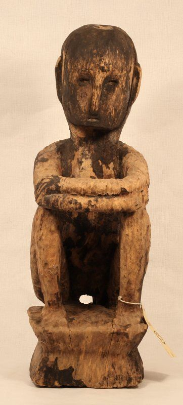 Philippines early 19th c Bulul Rice harvest God sculpture ...