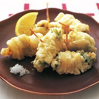 あなごの栄養や出回り時期・選び方   食材事典   プロの簡単料理レシピ ... あなごの梅しそ天ぷら