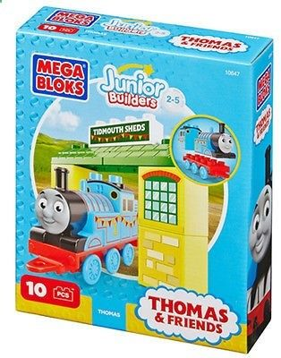 Games 146109: Mega Bloks - Junior Builders Thomas And Friends - Thomas With Tibmouth Sheds -> BUY IT NOW ONLY: $89 on eBay!