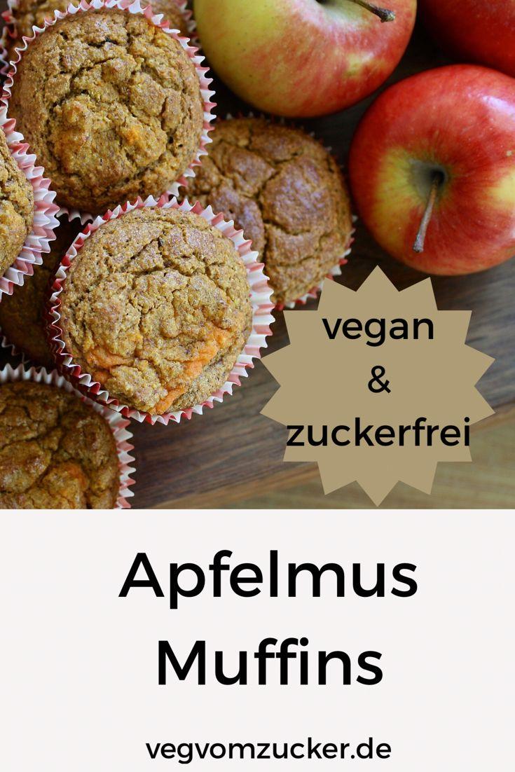 Diese leckeren Muffins kommen besonders bei Kindern gut an. Außerdem sind sie komplett vegan und zuckerfrei.
