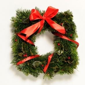Square Christmas decoration