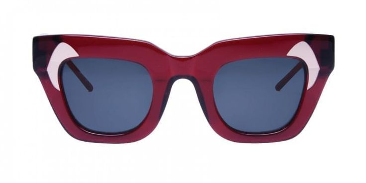 CITY SURVIVOR I New York, London, Paris, Milan - these chunky shades will navigate you through the fashion capitals. A feminine frame with a sharp edge. You will love it!