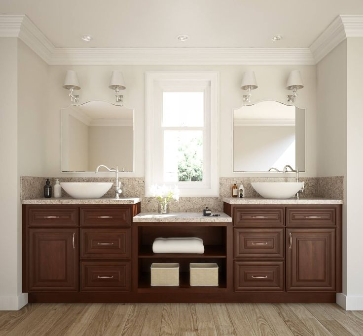 Biscotti Cafe Ready To Assemble Bathroom Vanities