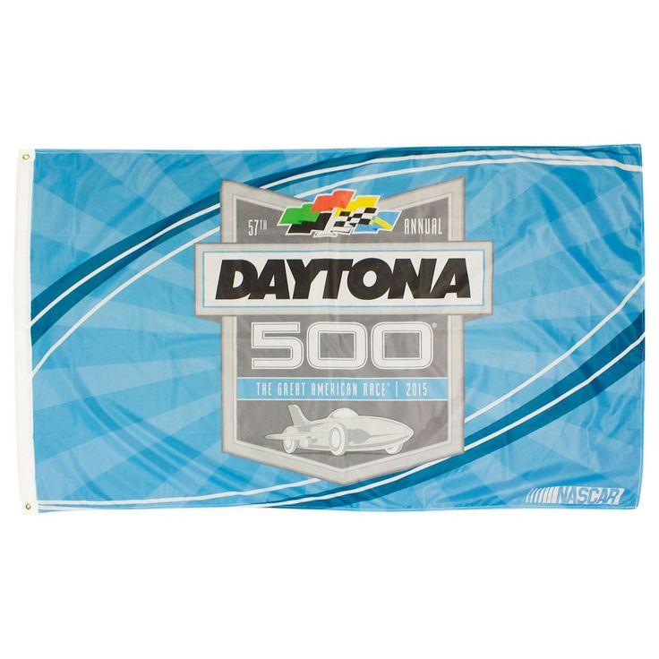 2015 Daytona 500 Deluxe 3' x 5' Flag, Blue